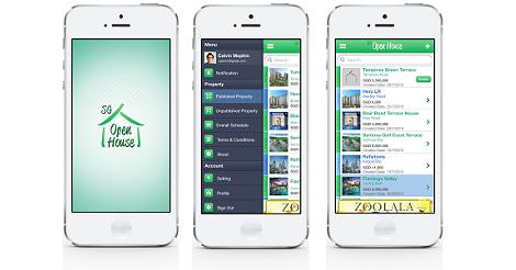 House App sgopenhouse property app | square fresco portfolio | singapore